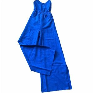🎉 Final Price NWT Flying Tomato blue jumpsuit